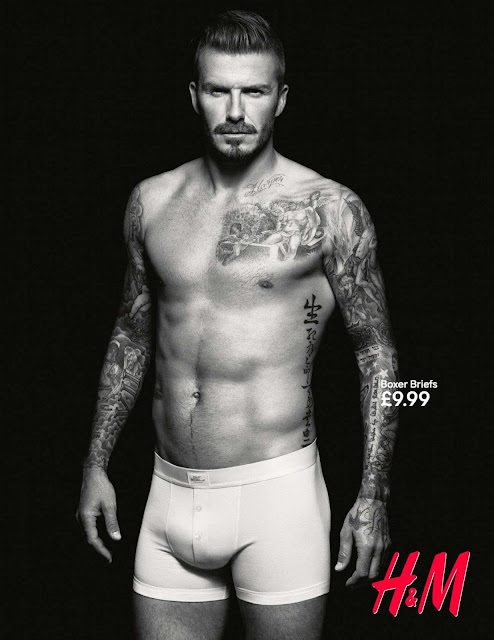 David Beckham, Becks, H&M underwear, Whorrified,