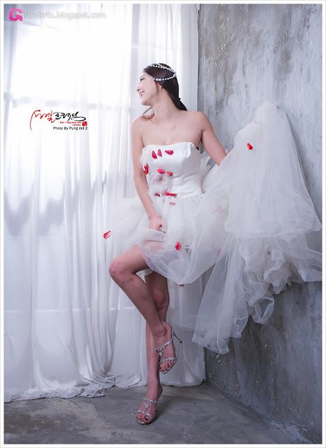 4 Ju Da Ha in Wedding Dress-very cute asian girl-girlcute4u.blogspot.com