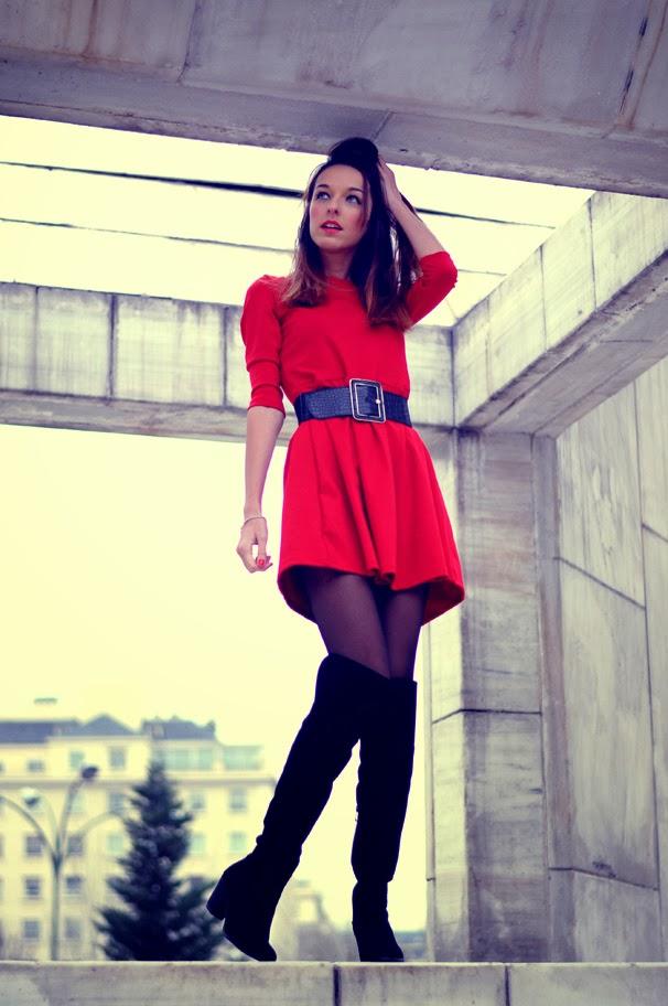 marvelous outfit vestido y leggins 9