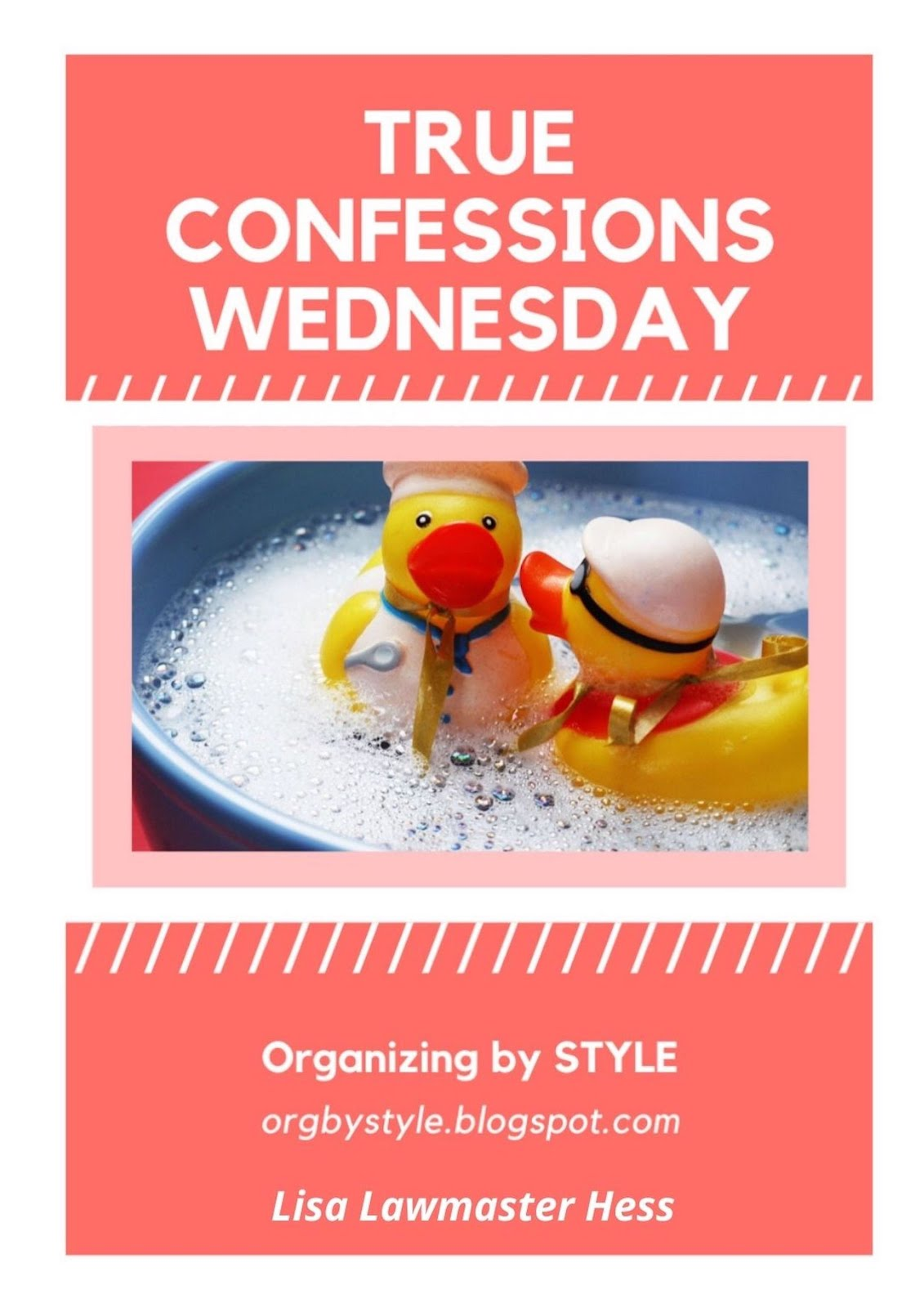 True Confessions Wednesday
