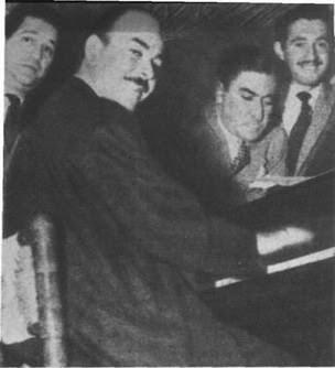Francisco Fiorentino, José Basso y Antonio Cantó