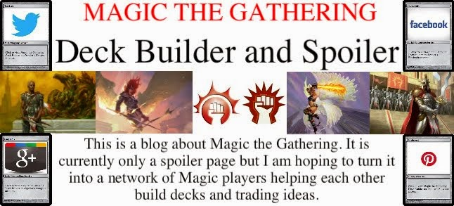 Magic the Gathering Deck Builder and Spoiler