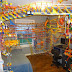 Teenager Constructs Rollercoaster from 25,000 K'Nex Pieces in his Bedroom