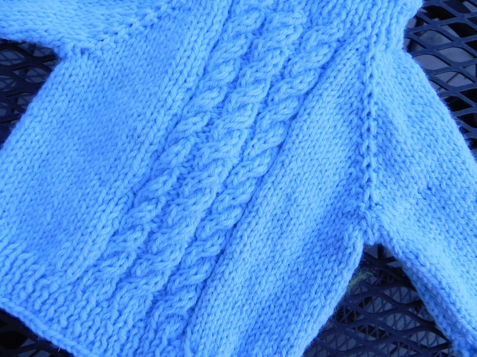 Knit Zilla: Poor Baby Sweater Pattern (Backzip Hooded Baby ...