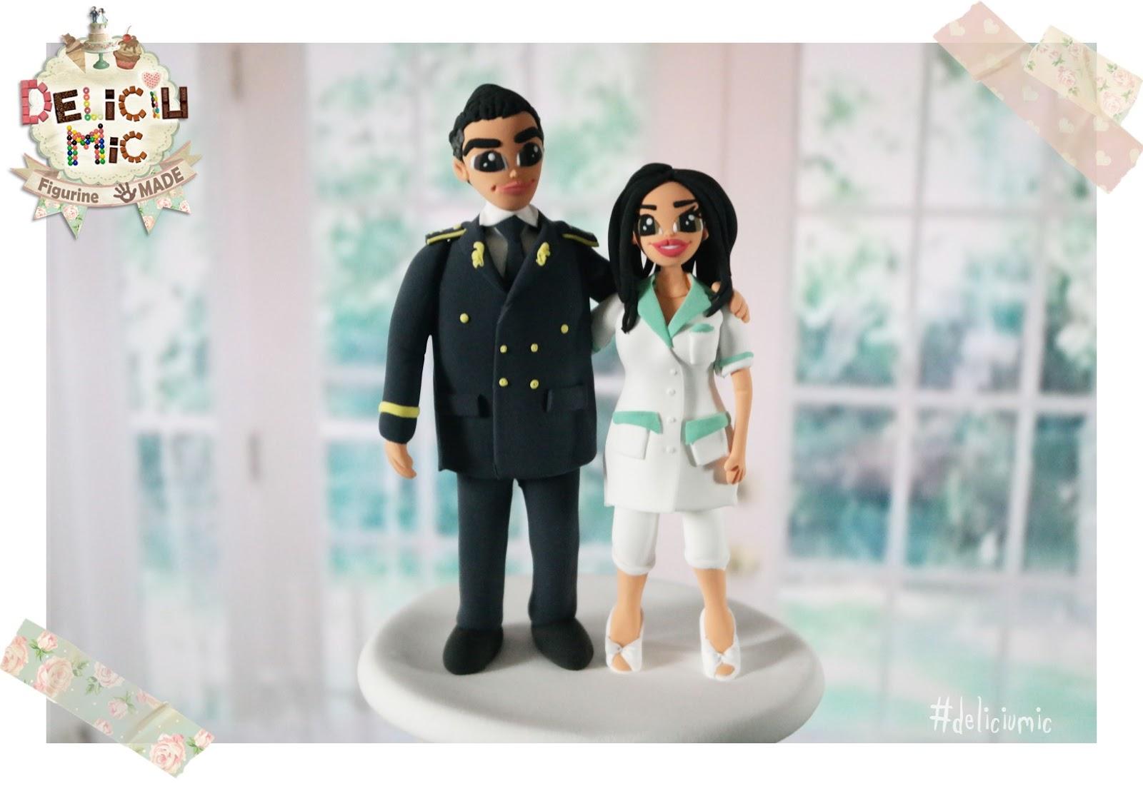 Figurine de tort cuplu