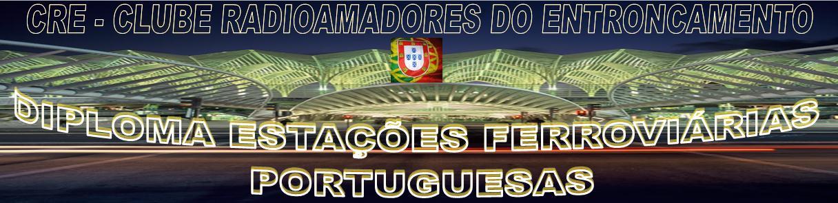 DIPLOMA ESTAÇÕES FERROVIÁRIAS PORTUGUESAS
