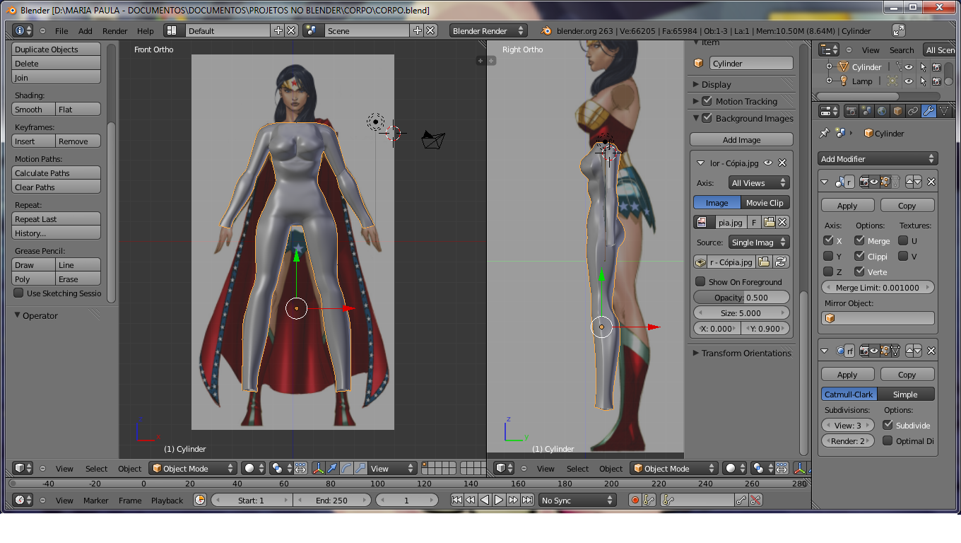 Blender 3d modeling this is a body that i created using as reference the body of wonder woman a picture of her that i found on the internet to use as blueprints soon ill malvernweather Images