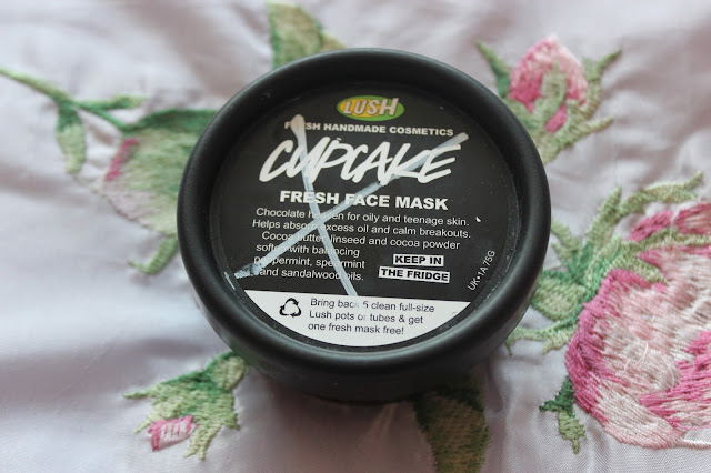 lush cupcake face mask