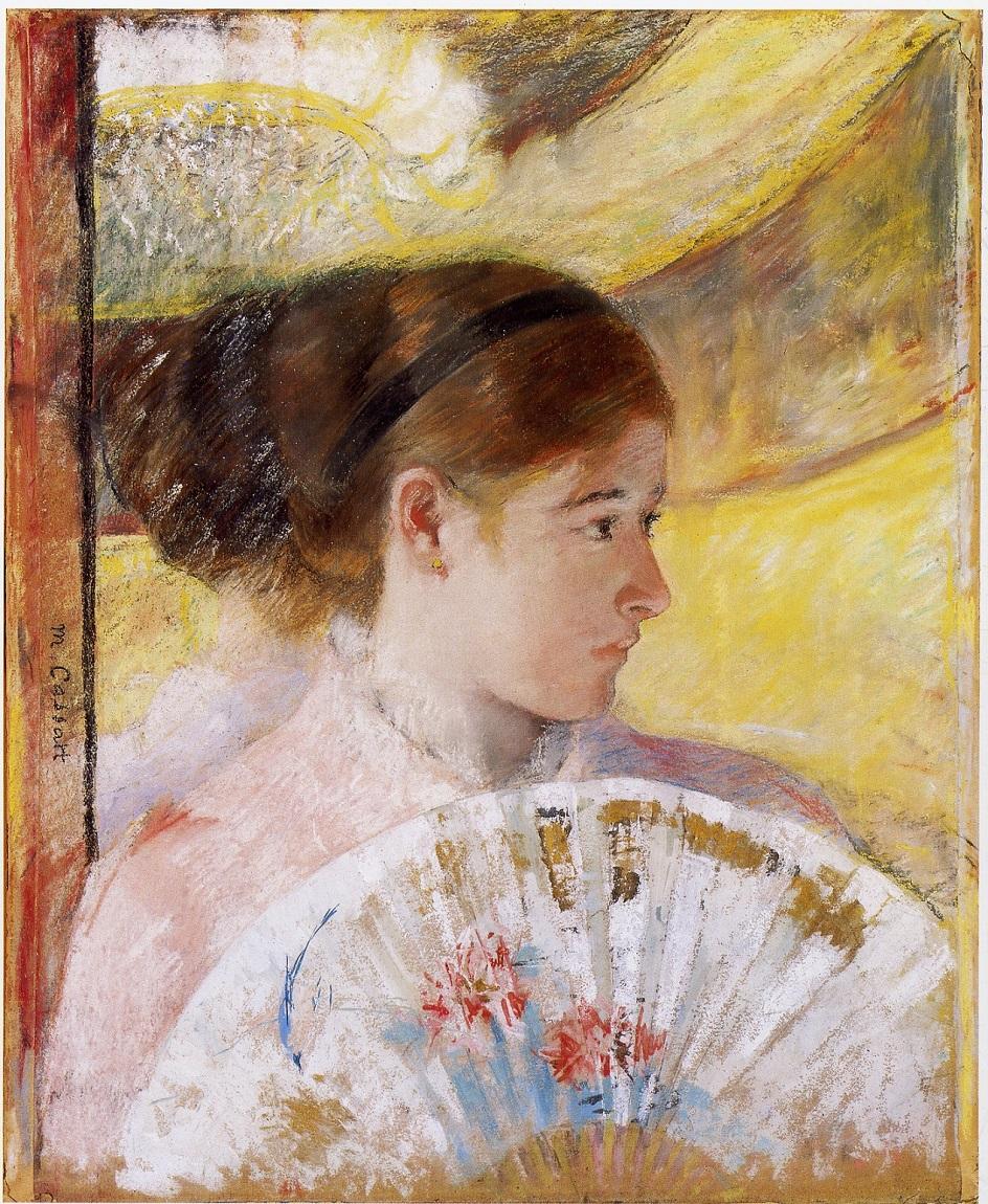 It 39 S About Time Summer Fans Mary Cassatt 1844 1926