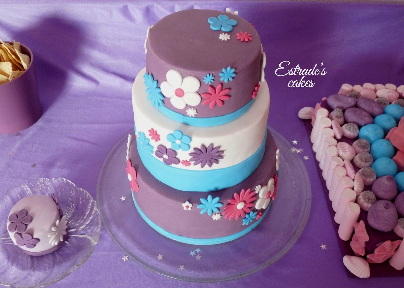 tarta de Violetta para cumpleaños - 2