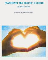 """Foto che raffigura la copertina dell'ebook """"Frammenti tra realtà e sogno"""""""