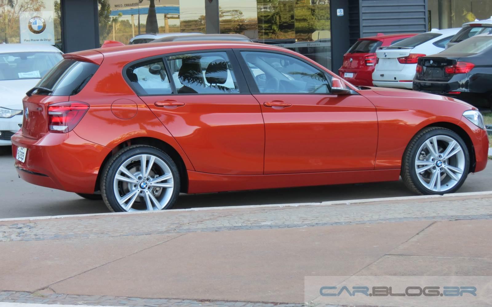 BMW Série 1 2015 Flex - consumo