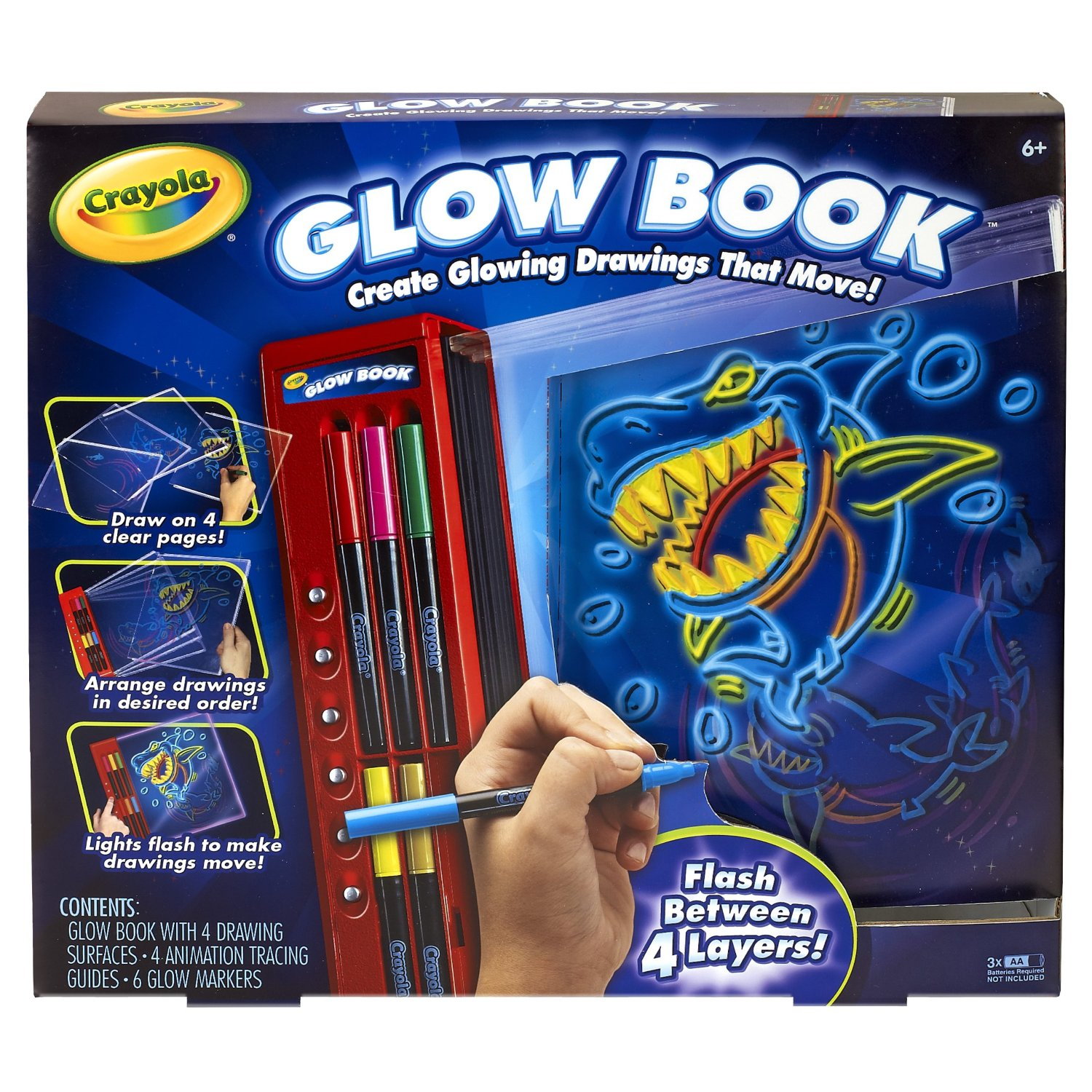 Best Buy Crayola Glow Book [Create glowing drawings with the Crayola ...