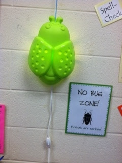 No Bug Zone for Guided Reading, photo