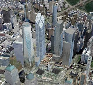 Nuovo WTC in Google Earth