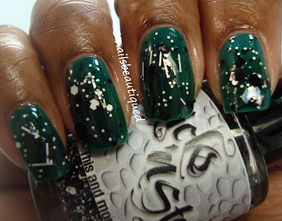 Zoya Frida layered with Sticks 'N Stones