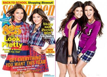 Kendall & Kylie Jenner Cover Seventeen September 2012 » Gossip | Kendall Jenner | Kylie Jenner