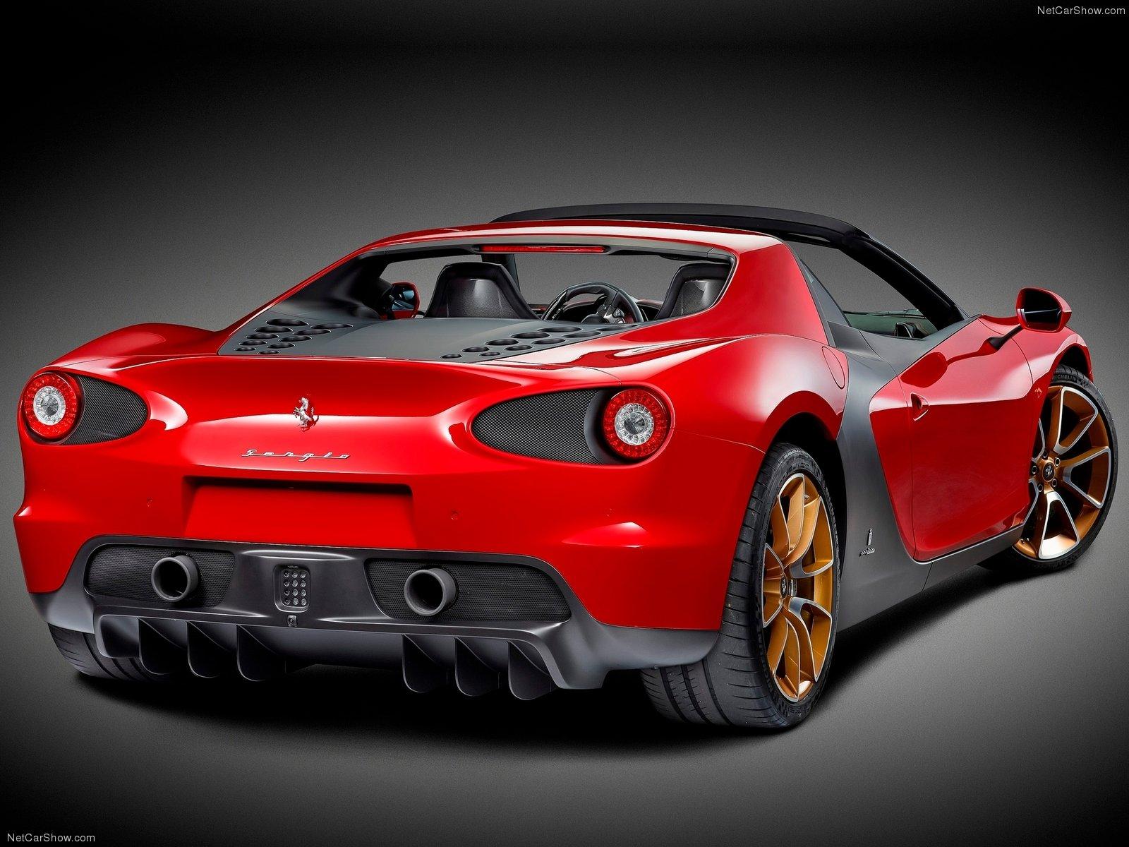 Hình ảnh siêu xe Ferrari Sergio 2015 & nội ngoại thất