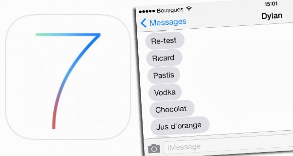مشاكل تقنية تواجه iMessage على iOS 7