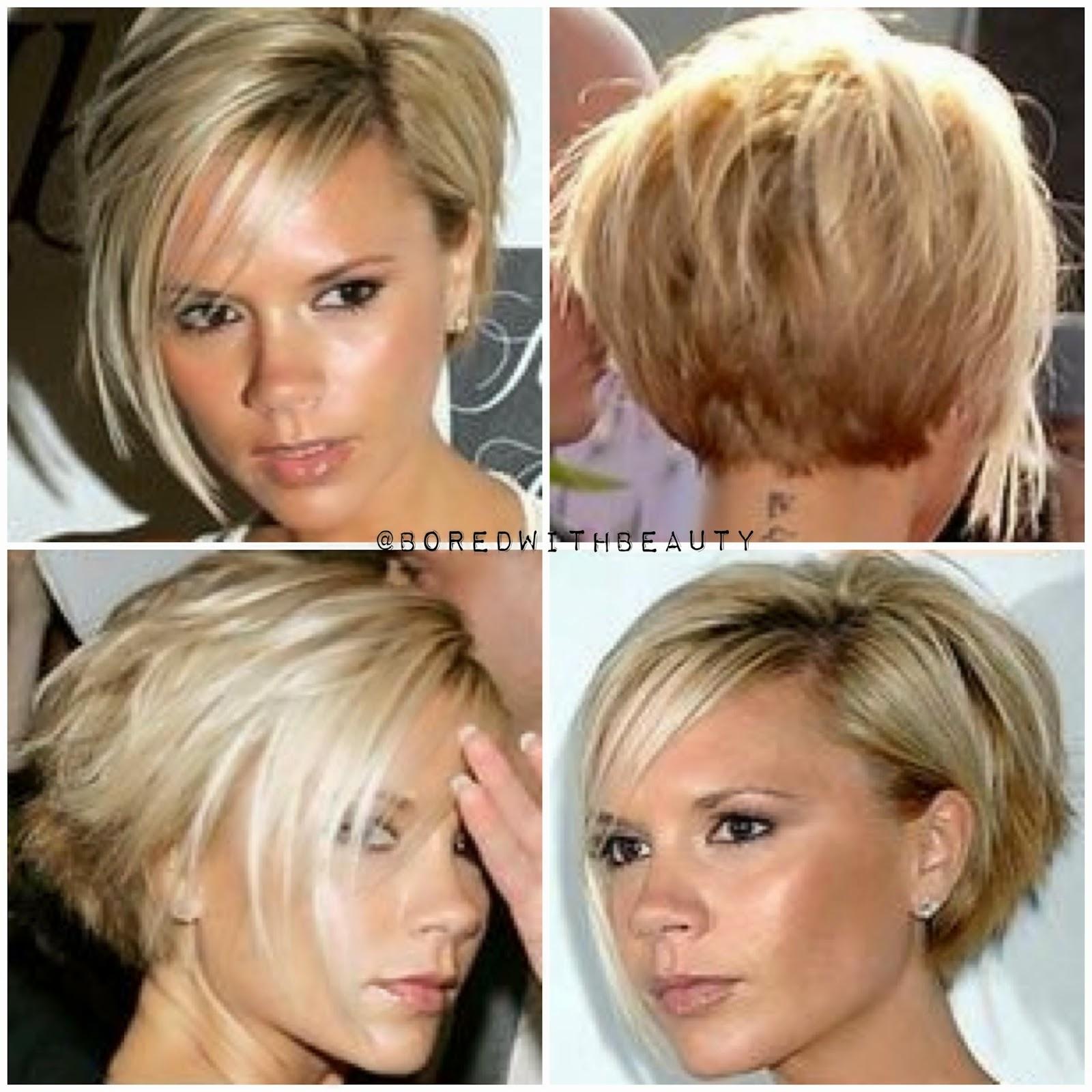 Short Bob Haircuts For 2013 Front And Back Views