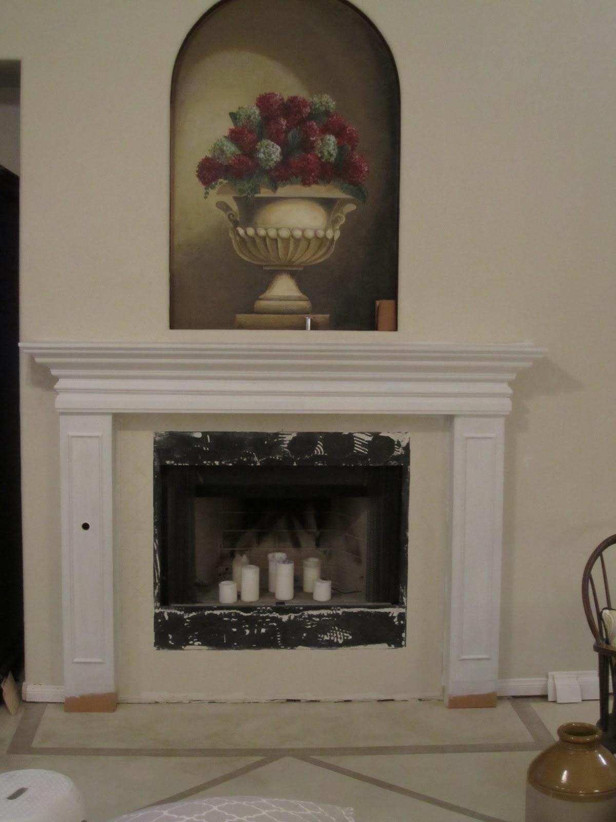 anythingology fireplace makeover 2 it u0027s finally finished