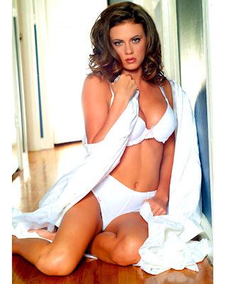 Breanne Ashley Bikini Pics10 Lying nude in bed.