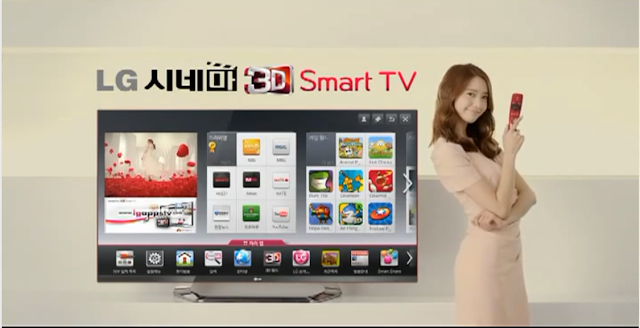 SNSD new LG 3D Smart TV Commercial Film