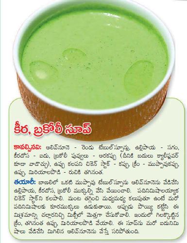Healthy food recipes broccoli soup recipe in telugu broccoli soup recipe in telugu forumfinder Choice Image