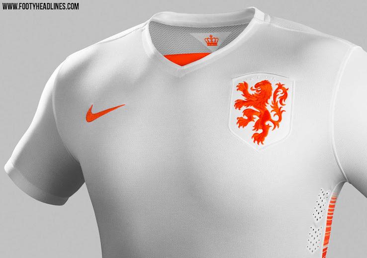 Headlines Footy - Nike Kit Released Away 2015 Netherlands