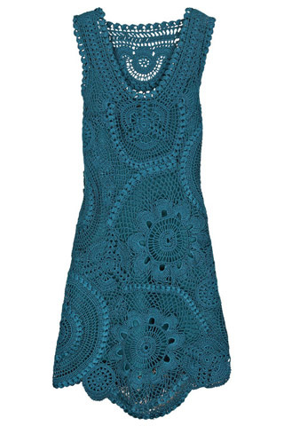 Vestidos para mujeres a Crochet Ruso / Irlandés Modelos