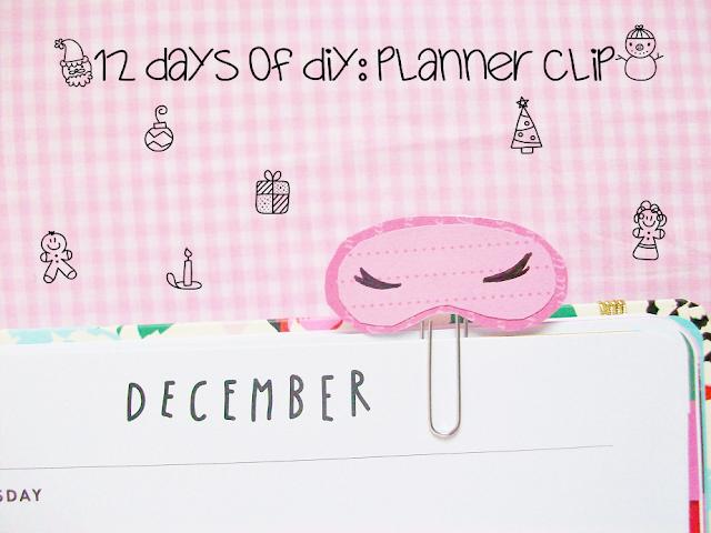 Planner Clip DIY