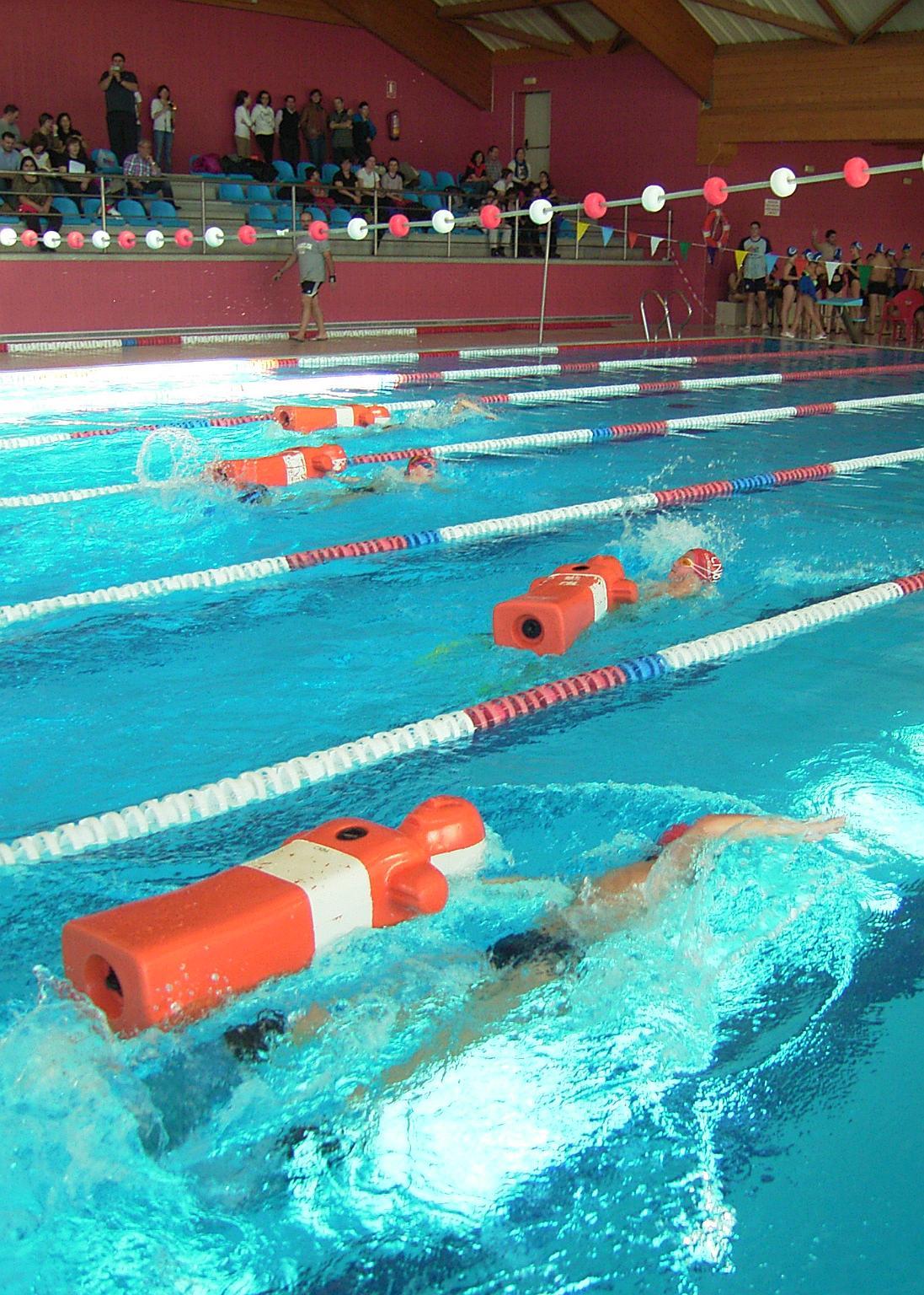 Club nataci n bajo arag n resultados 5 6 jornada fass for Piscinas de monzon