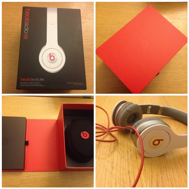 Beats headphones unboxing