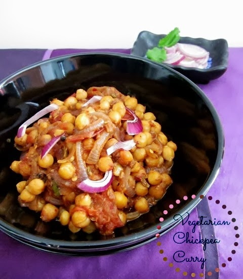Vegetarian Chickpea Curry from Nomsies Kitchen