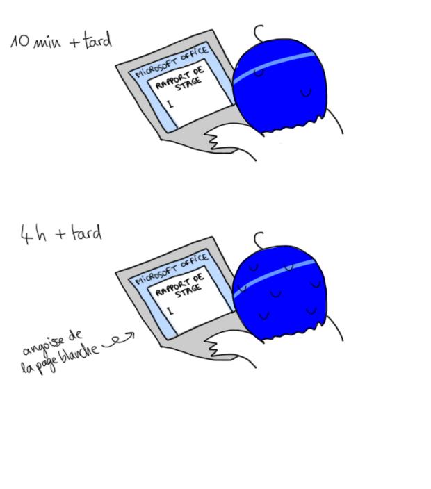 Angoisse de la page blanche devant Microsoft Word