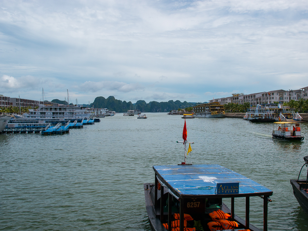 different cruises at halong bay cruise port