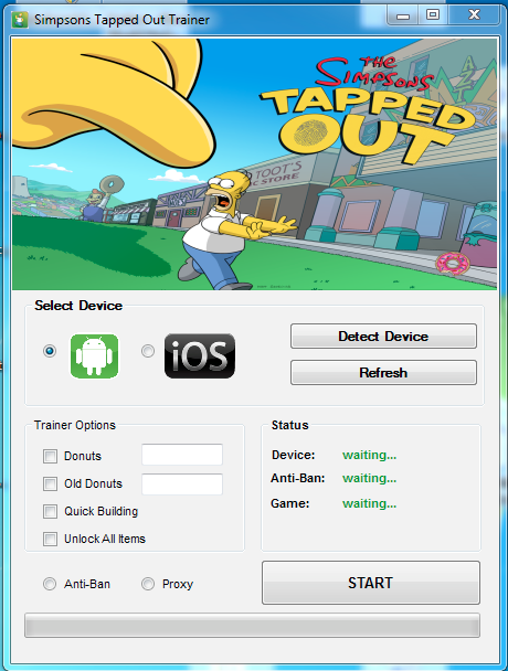 Simpsons Tapped Out Donut Cheat