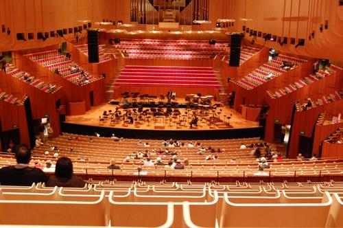 Interior Sydney Opera House