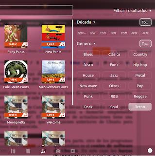 Filtro de resultados, novedades ubuntu 12.10