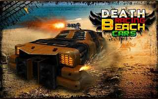 Screenshots of the Death race: Beach racing for Android tablet, phone.
