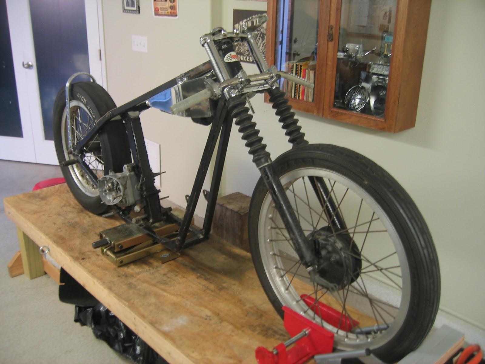Musings Of A Motorcycle Aficionado........: Pre-Unit Dragster