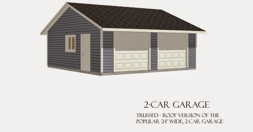 Garage plans blog behm design garage plan examples for Reverse gable garage