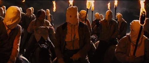 hilarious Ku Klux Klan scene in Django Unchained