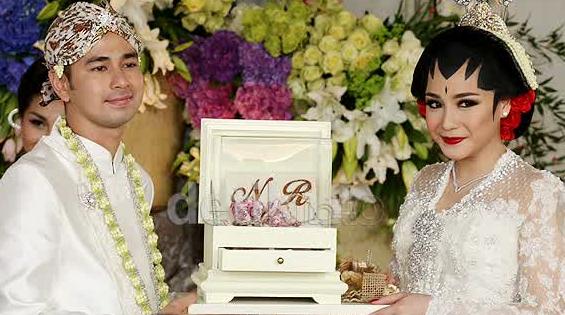 Pernikahan Artis Raffi Ahmad dan Nagita Slavina