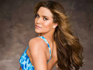 Natalie Coughlin Body Paint