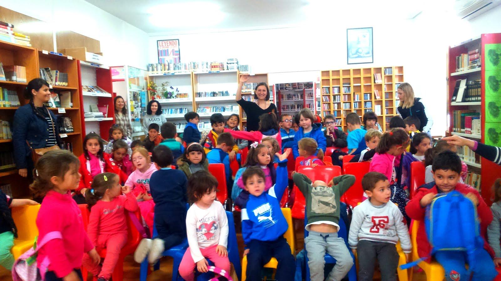 SUSANA JIMÉNEZ CUENTA CUENTOS A LOS CHICOS DE EDUCACIÓN INFANTIL, 19/04/2017