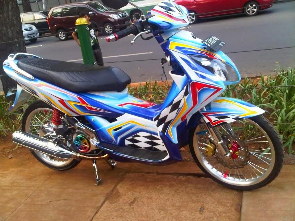 Contoh Modifikasi Yamaha Nouvo