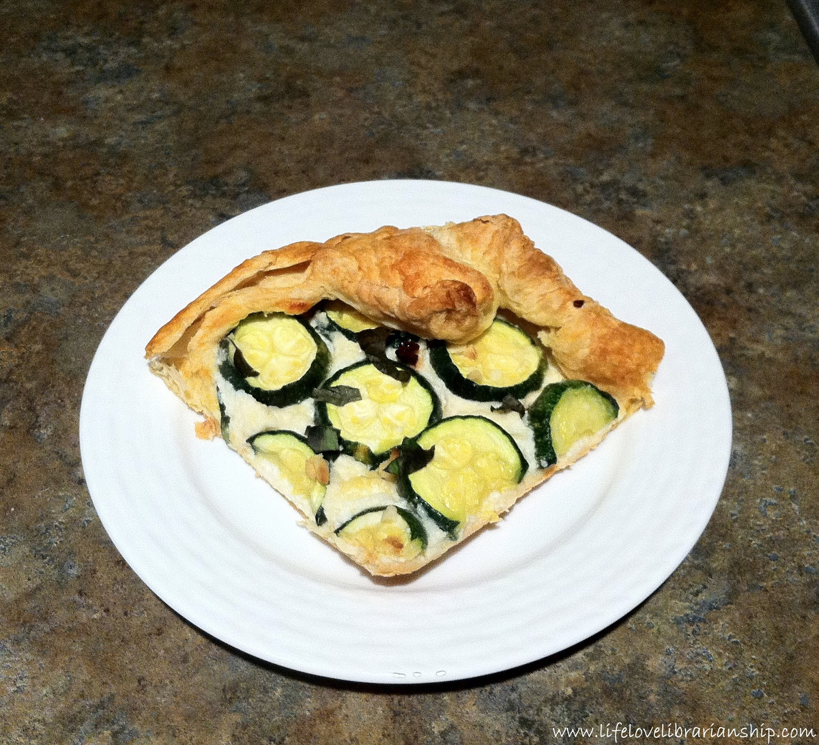 Recipe: Ricotta and Zucchini Galette - Adventures in Life ...
