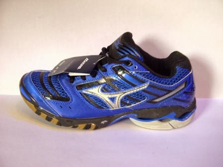 Mizuno Wave Lightning 7 warna biru