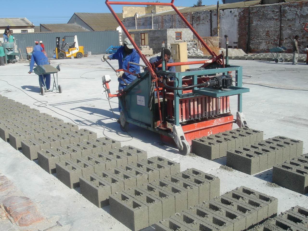 Doubell Machine And Equipment Egg Layer Or Static Brick